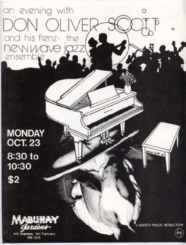 Don Oliver Scott Punk Flyer / Handbill