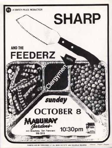 Roger/Reyes Sharp Punk Flyer / Handbill