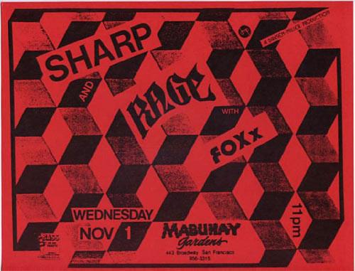 Sharp Punk Flyer / Handbill