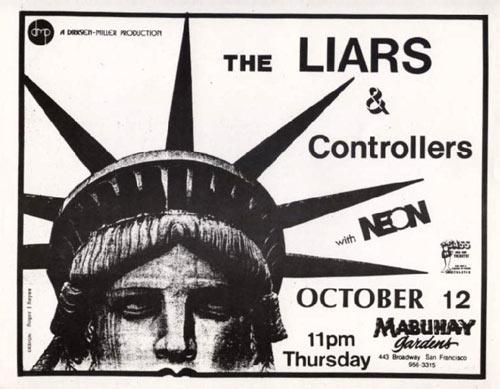 The Liars Punk Flyer / Handbill