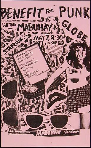 Punk Globe Benefit Punk Flyer / Handbill