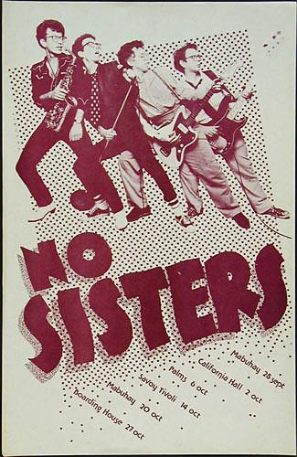 No Sisters Punk Flyer / Handbill