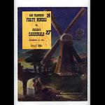 1951 San Francisco 49ers vs Chicago Cardinals Pro Football Program