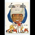 1955 San Francisco 49ers vs Washington Redskins Pro Football Program