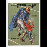 1956 San Francisco 49ers vs Chicago Bears Pro Football Program