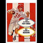 1957 San Francisco 49ers vs Washington Redskins Pro Football Program