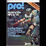 1976 San Francisco 49ers vs Oakland Raiders Pro Football Program