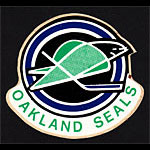 Oakland Seals 1968 Logo Sticker