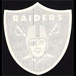 Oakland Raiders KRLA Talk Radio Promo NFL Football Window Sticker