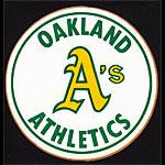 Oakland Athletics RARE Original 1970's A's Logo Baseball Sticker