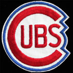 Chicago Cubs Shaped Logo Baseball Patch