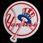 New York Yankees Logo Baseball Patch
