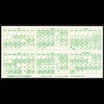 Oakland Athletics **RARE** 1975 Home Pocket Schedule VTG MLB Promo A's guide Pocket Schedule
