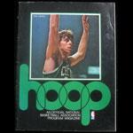 1976 Warriors vs Celtics NBA Hoop Magazine Basketball Program