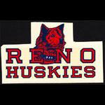 Reno High School Huskies Decal