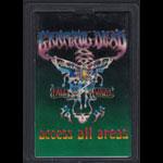 Grateful Dead 1994-95 Fall/Winter Tour Employee Pass Laminate