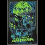 Vance Kelly Kirk Von Hammett's Fear Fest-Evil (Festival) Autographed Poster