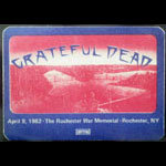 Grateful Dead 4/9/1982 Rochester NY Backstage Pass