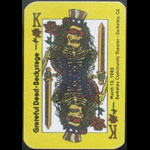 Grateful Dead 3/12/1985 Berkeley CA Backstage Pass