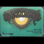 Rick Griffin Grateful Dead 4/4/1985 Providence RI Backstage Pass
