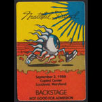 Rick Griffin Grateful Dead 9/2/1988 Washington DC Backstage Pass