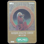 Grateful Dead 5/15/1981 Rutgers University Backstage Pass