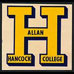 Allan Hancock College Bulldogs Decal
