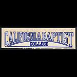 California Baptist College Lancers Decal