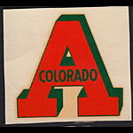 Colorado Agricultural and Mechanical College (Colorado A&M) Decal