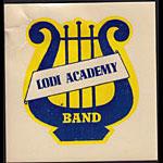 Lodi Academy Band Decal
