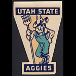 Utah State Agricultural College Aggies Decal