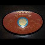 Cal Football 50th Anniversary Wonder Teams  Commemorative Glass Presentation Dish Plate