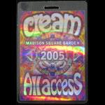 Cream 2005 All Access Madison Square Garden Laminate