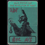 Blue Oyster Cult Revolution By Night Backstage Pass