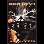 Bon Jovi Bounce Tour 2003 All Access Backstage Pass