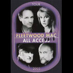 Fleetwood Mac Say You Will Tour 2003 All Access Backstage Pass