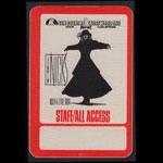 Stevie Nicks Rock a Little Tour 1986 Staff All Access Backstage Pass