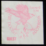 Doobie Brothers Farewell Tour 1982 Guest Backstage Pass