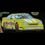 Atlanta NASCAR NAPA 500 2001 Hard Rock Cafe Pin
