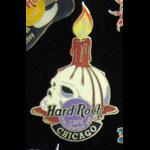 Chicago Halloween 2001 Hard Rock Cafe Pin