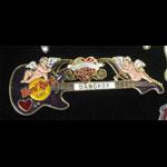 Bangkok Thailand Valentine's Day 1996 Hard Rock Cafe Pin