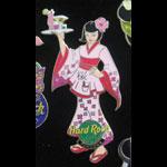 Fukuoka Japan 2002 Cherry Blossom Hard Rock Cafe Pin