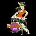 Fukuoka Japan Thanksgiving 2000 Hard Rock Cafe Pin