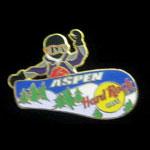 Aspen Colorado 2000 Hard Rock Cafe Pin