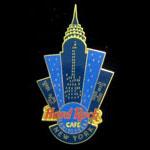 New York City 2000 Hard Rock Cafe Pin