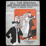 All the Quakers are Shoulder Shakers Sheet Music