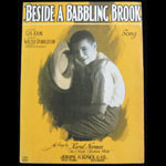 Beside a Babbling Brook Gus Kahn Walter Donaldson Sheet Music