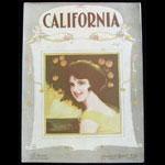 California Operatic Edition Cliff Friend Con Conrad Sheet Music