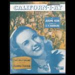 Californ-i-ay Sheet Music