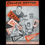 College Rhythm Sheet Music